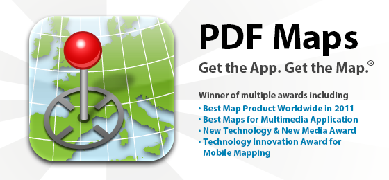 IMTA award-winning Avenza PDF Maps iOS App - iPhone and iPad - Get the App. Get the Map.